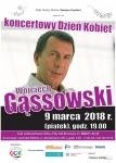 Zapraszamy na koncert Wojciecha Gąssowskiego.