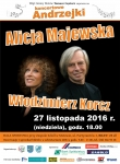 Koncert Alicji Majewskiej i Włodzimierza Korcza