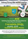 Turniej Piłki Nożnej Sołectw po raz XVII