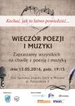 Wieczór Poezji i Muzyki pt.