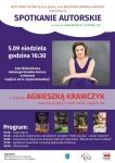 Spotkanie autorskie z pisarką Agnieszką Krawczyk